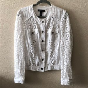 INC white jacket